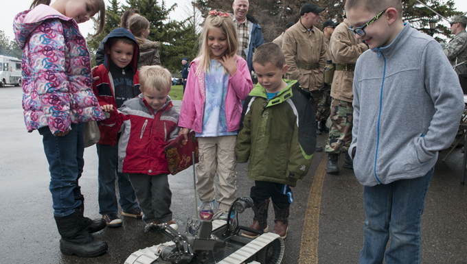 Military, local community celebrate Armed Forces Day