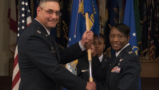 Col. Galluzzo takes command of the 90th MDG