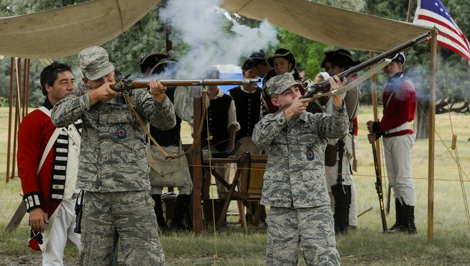 Mission, history come alive at base open house