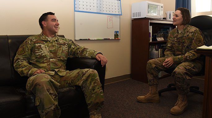 Prior enlisted chaplain helps defenders