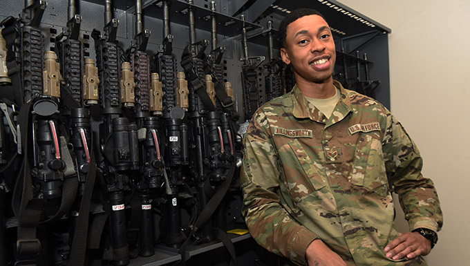 Faces of the Mighty Ninety: 90th SSPTS Armory