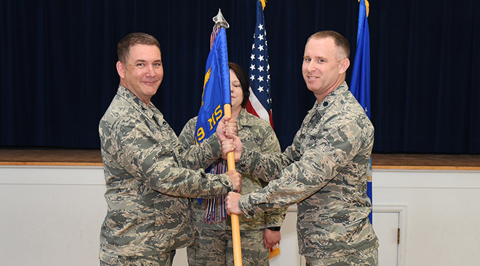319th Missile Squadron welcomes new commander