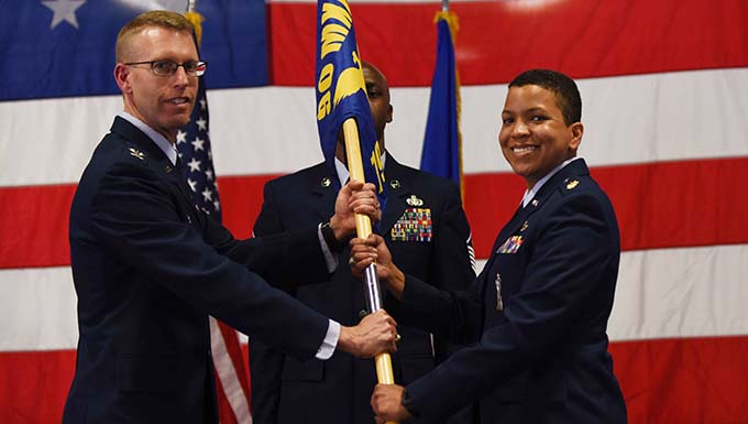 790th MXS Change of Command