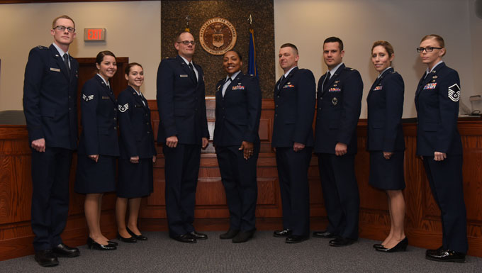 Order in the Court: Airmen serve as jury for mock trial